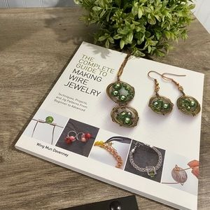 Guide to wire jewelry making NEW book